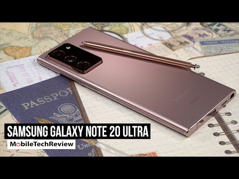 Samsung Galaxy Note 20 Ultra First Look Review