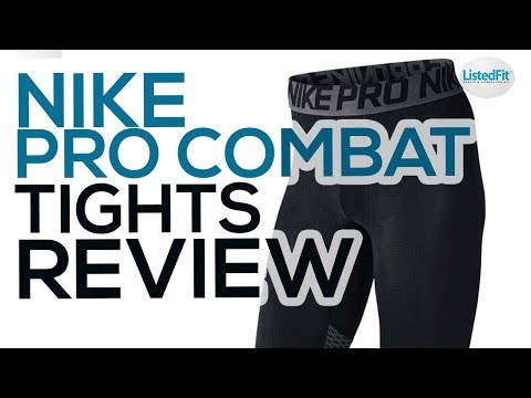 Nike Pro Combat Compression Tights Review - NO MORE LEG DAY PAIN!