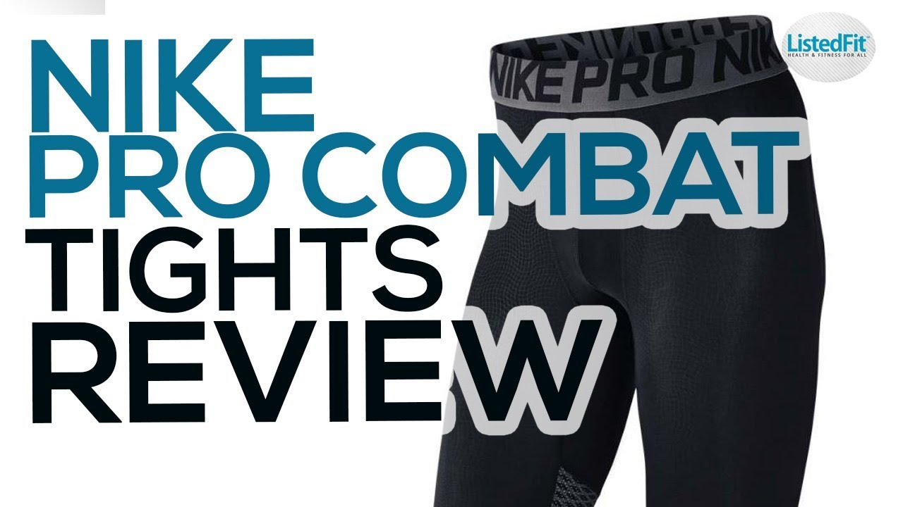 Nike Pro Combat Compression Tights Review No More Leg Day Pain Youtube