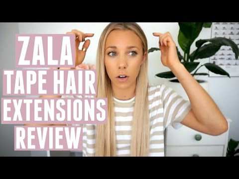 Zala Tape Hair Extensions Review + My Hair Care