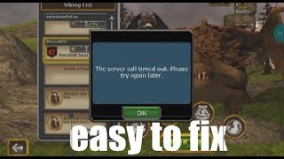 How To Fix Sever Call Timeout In School Of Dragons