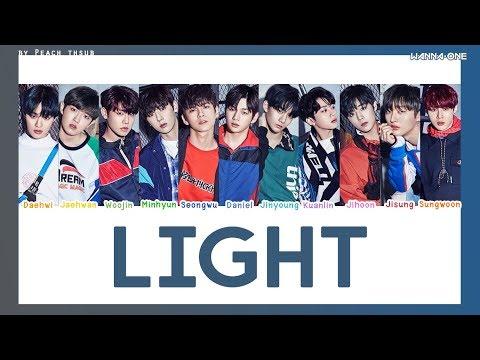 [COLOR CODED/THAISUB] WANNA ONE - Light #พีชซับไทย