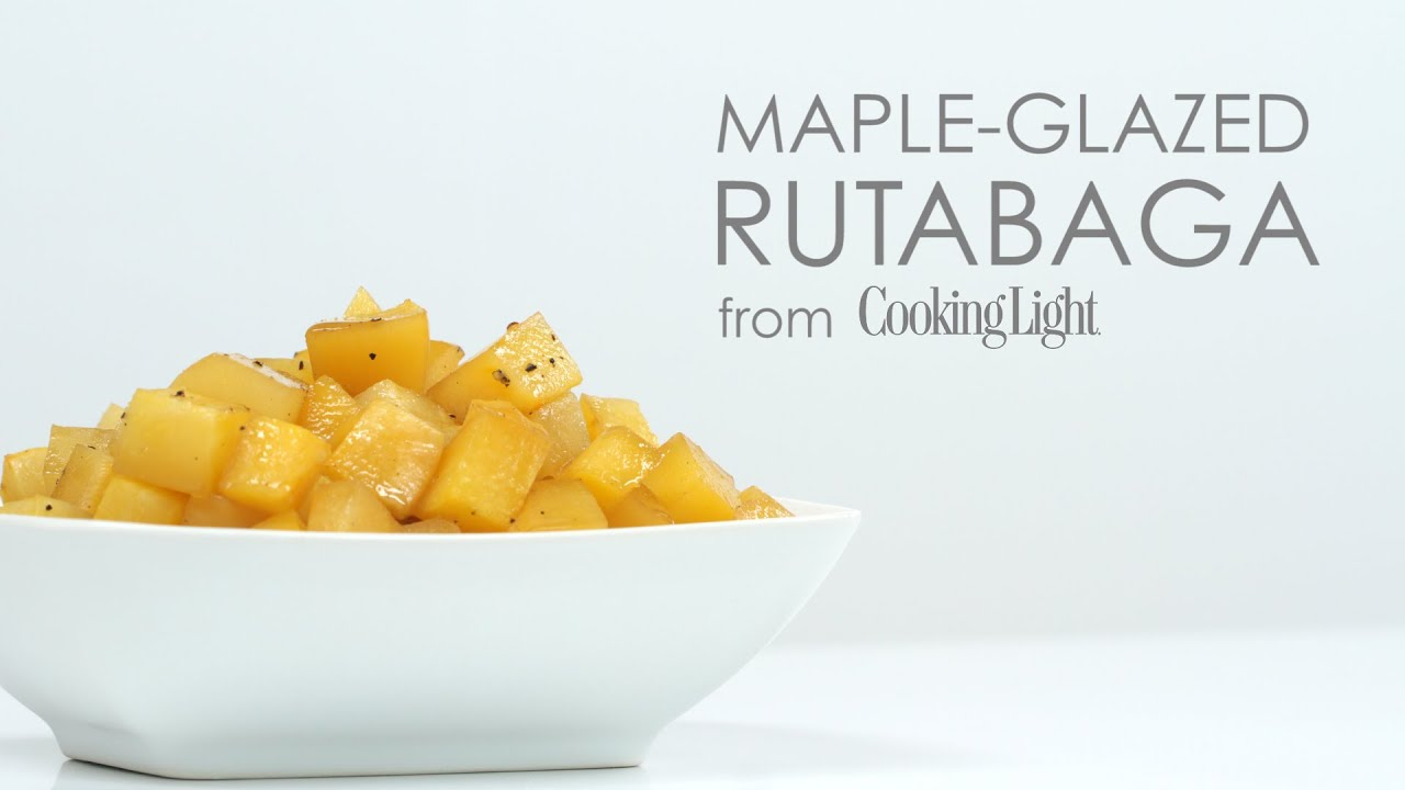 How to Make Maple Glazed Rutabaga | MyRecipes - YouTube