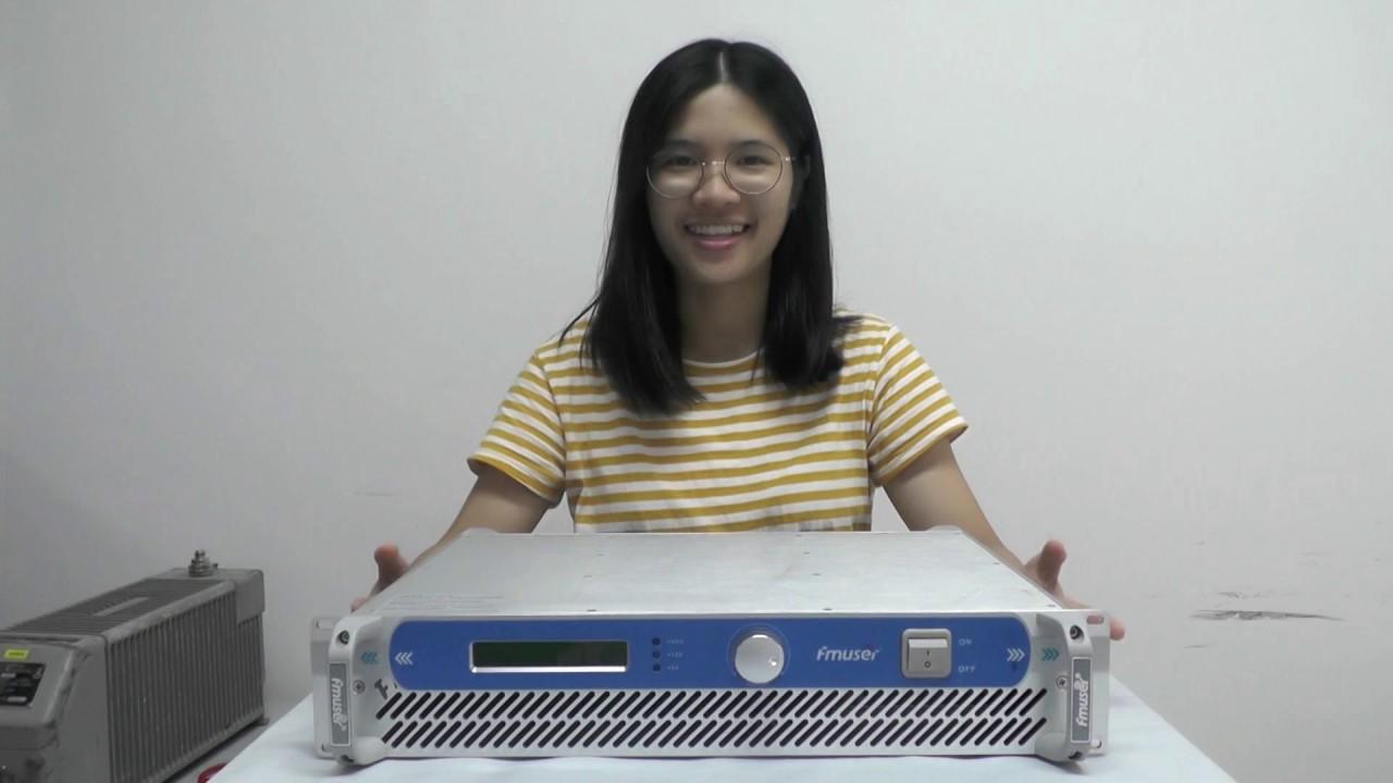 FMUSER FSN-350T 350W 300W FM Radio Transmitter Broadcast For FM Radio  Station