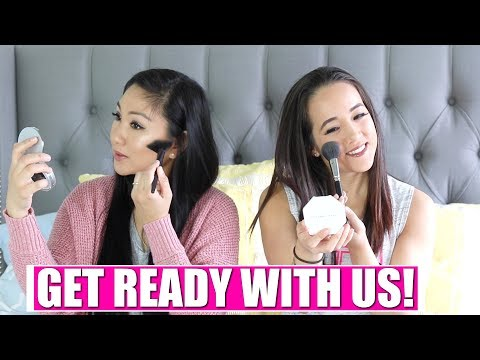 GET READY WITH US! Chit Chat BFF edition! | Amazon makeup, Smashbox Photo Edit, Fenty Beauty,