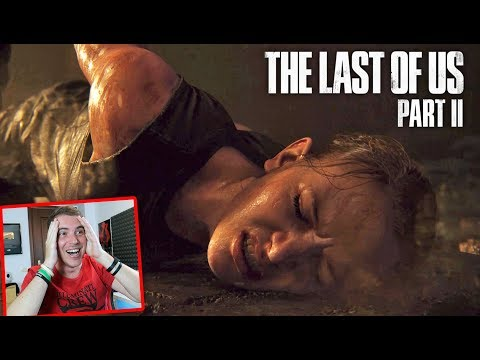 THE LAST OF US 2 TRAILER PGW 2017!! ASSURDO!! Live Reaction (Paris Gamesweek Trailer)