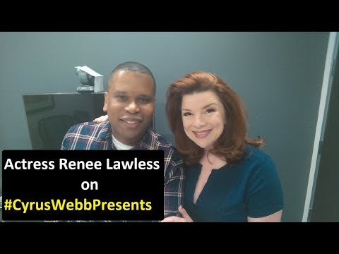 Actress Renee Lawless stops by CyrusWebbPresents in Los Angeles