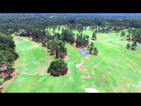 Augusta National - Magnolia Drive Flyover
