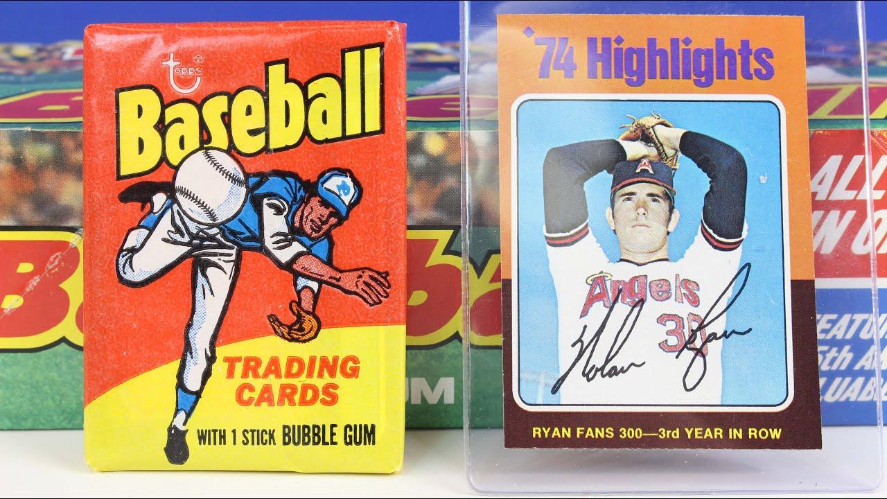1975 Topps Mini Last Wax Pack Box Break Possible George Brett Robin Yount Rookie Baseball Card