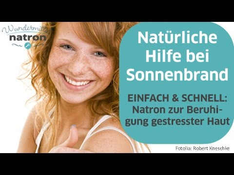 hausmittel bei sonnenbrand youtube. Black Bedroom Furniture Sets. Home Design Ideas