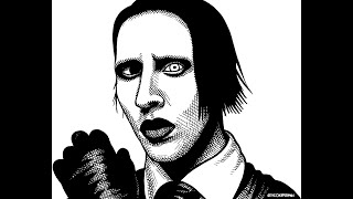 Marilyn Manson - BLANK AND WHITE (Music Video)