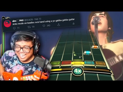 Sometimes I Need To Ask Myself Why I Do These Things (SICKO MODE ON BEATLES ROCK BAND)