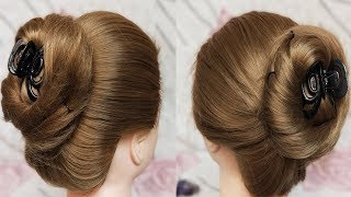 Juda hairstyle Using Clutcher || Everyday simple hairstyles ||  hair style girl || cute hairstyles