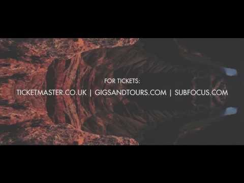 Sub Focus Live - UK Album Tour 2013