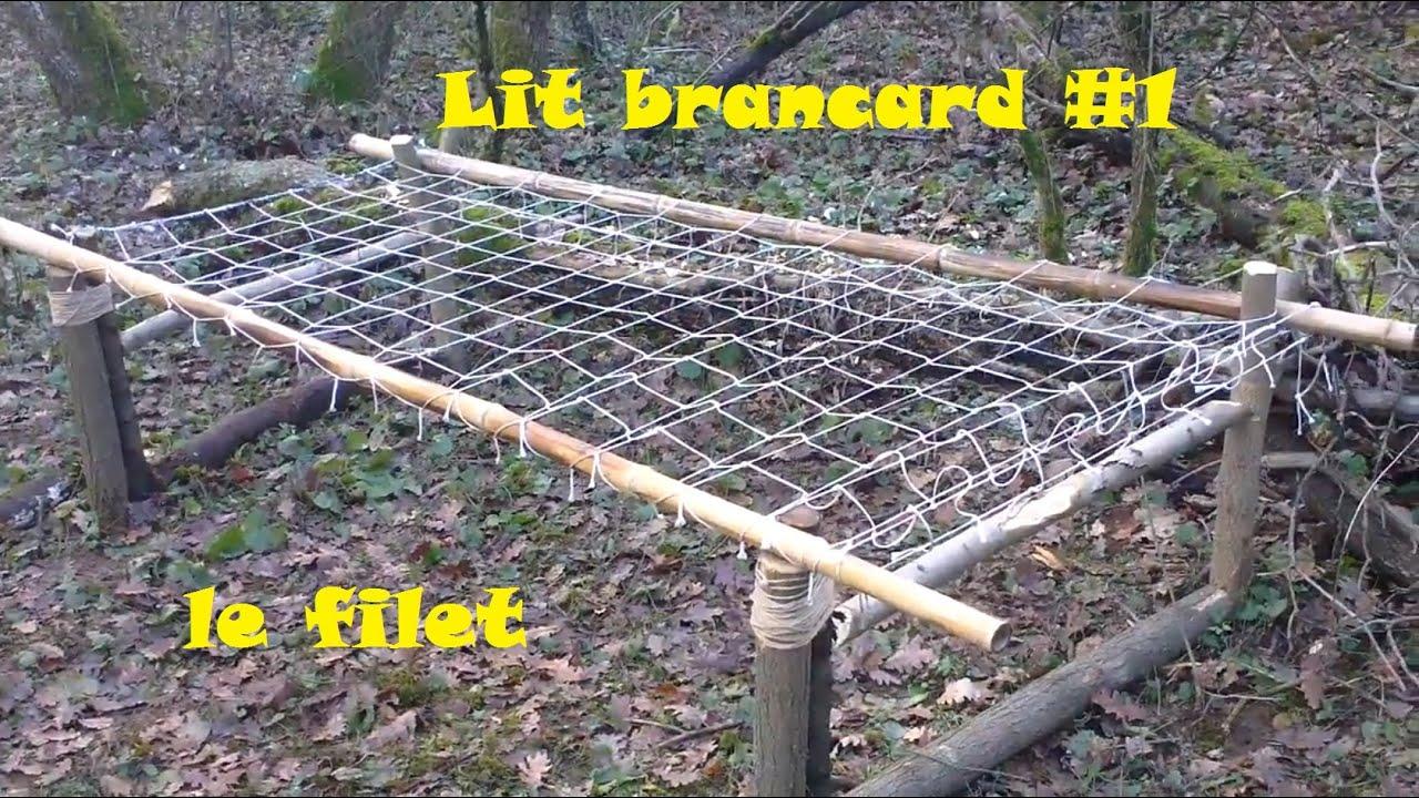 Bushcraft Lit Ficelle Le Filet Building A