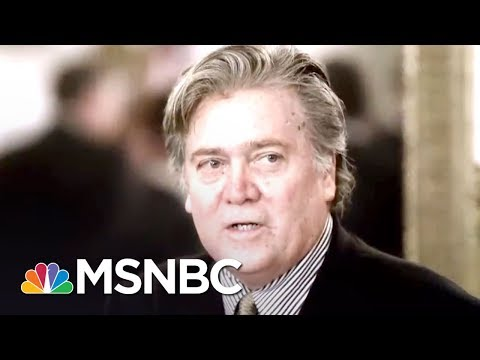 Steve Bannon Thinks Donald Trump Made A Big 'Mistake' Firing James Comey | The 11th Hour | MSNBC