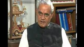 Rajeev Shukla interviews atal bihari vajpayee part1 of 3