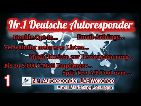 LeadInvasion live Workshop - Autoresponder! 19.04.2016