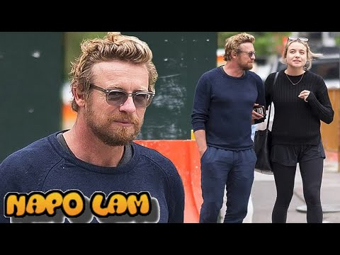 Actor Simon Baker, 48, hangs out with daughter Stella, 24, in NYC