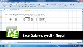 How to create salary sheet in Microsoft Excel