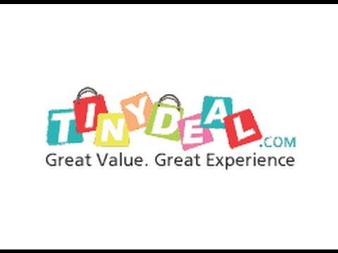 Заказ с китайского сайта Tinydeal.