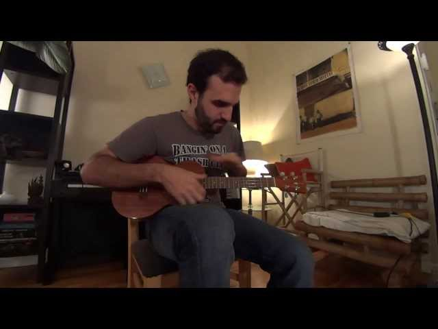 """Drifting"" on the Ukulele (Andy McKee Cover) Percussive Tapping Solo Ukulele - Joey Calfa Ukulelien"