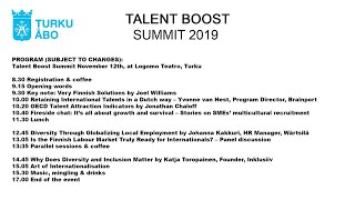 Talent Boost Summit 2019