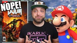 DOOM Eternal on Switch Gets Weird + Nintendo Angers Smash Fans?