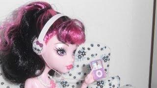 Como fazer um mp3 com fone de ouvido para boneca Monster High, Barbie, etc