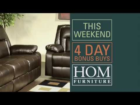 HOM Furniture 4 Day Sale