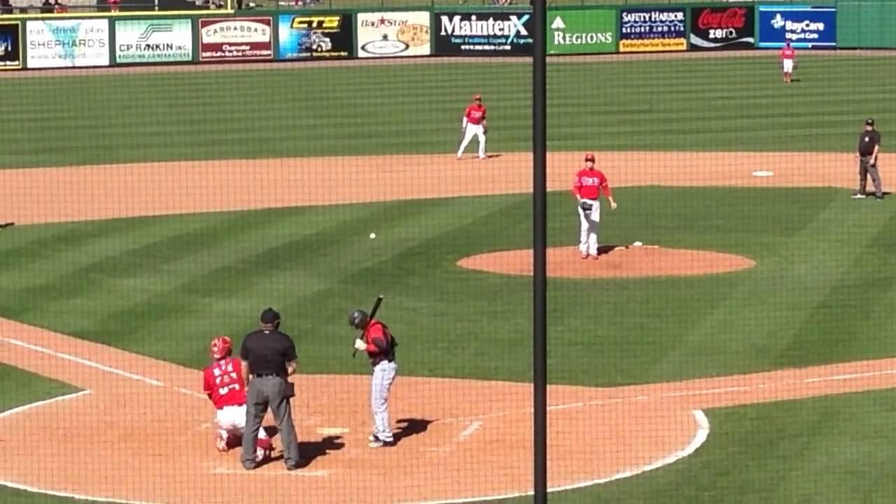 6e397c7e01d9e8 Daniel Stumpf gets final out of the inning - YouTube