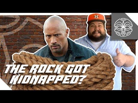 """Dwayne """"The Rock"""" Johnson's super fan goes too far!"""