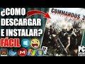 Descargar Commandos 3 para PC Full En Español (Fácil)