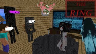 Monster School THE RING MOVIE Minecraft Animation
