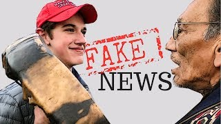 What Really Happened- MAGA Hat Story is Fake News!