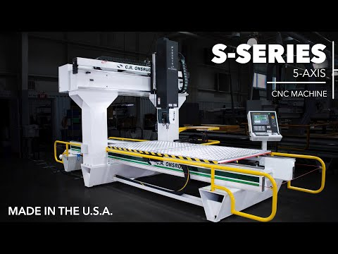 5-Axis Door Machining | Featuring the S-Series by C.R. Onsrud