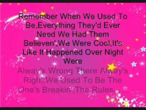 Martina McBride- Teenage Daughter's (Lyrics)