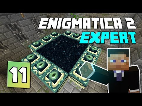 Enigmatica 2: Expert Mode - EP 32   Mystical Agriculture Crops