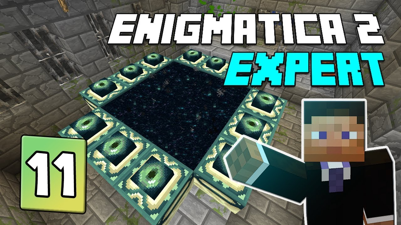 Enigmatica 2: Expert Mode - EP 11 | PlusTiC Laser Gun & The end