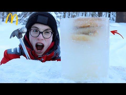 Big Mac VS - 30°C (expérience)