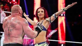 Deleted: OMG Brock Lesner touches Sasha Banks Boobs