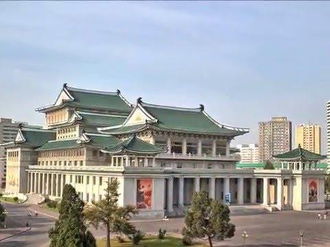 Pyongyang, ibukota Korea Utara, Taedong River, Korea Bay, komunisme, sungai, pokok willow,
