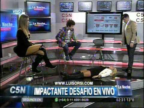 C5N - LA NOCHE: LUIS ORSI EN ARGENTINA