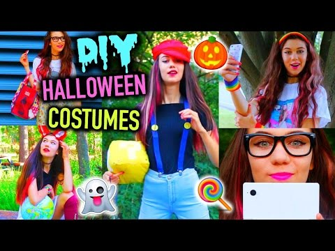 DIY Clever Last Minute Halloween Costume Ideas! | Cheap And Easy!