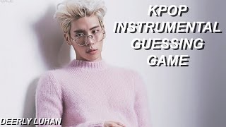 Kpop Instrumental Guessing Game