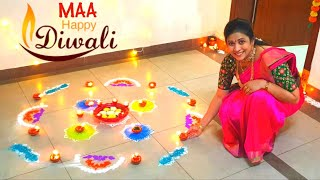 Happy Diwali Celebrations |Maa Deepavali Home Decoration & Preparation | DIML| Vlog | Sushma Kiron