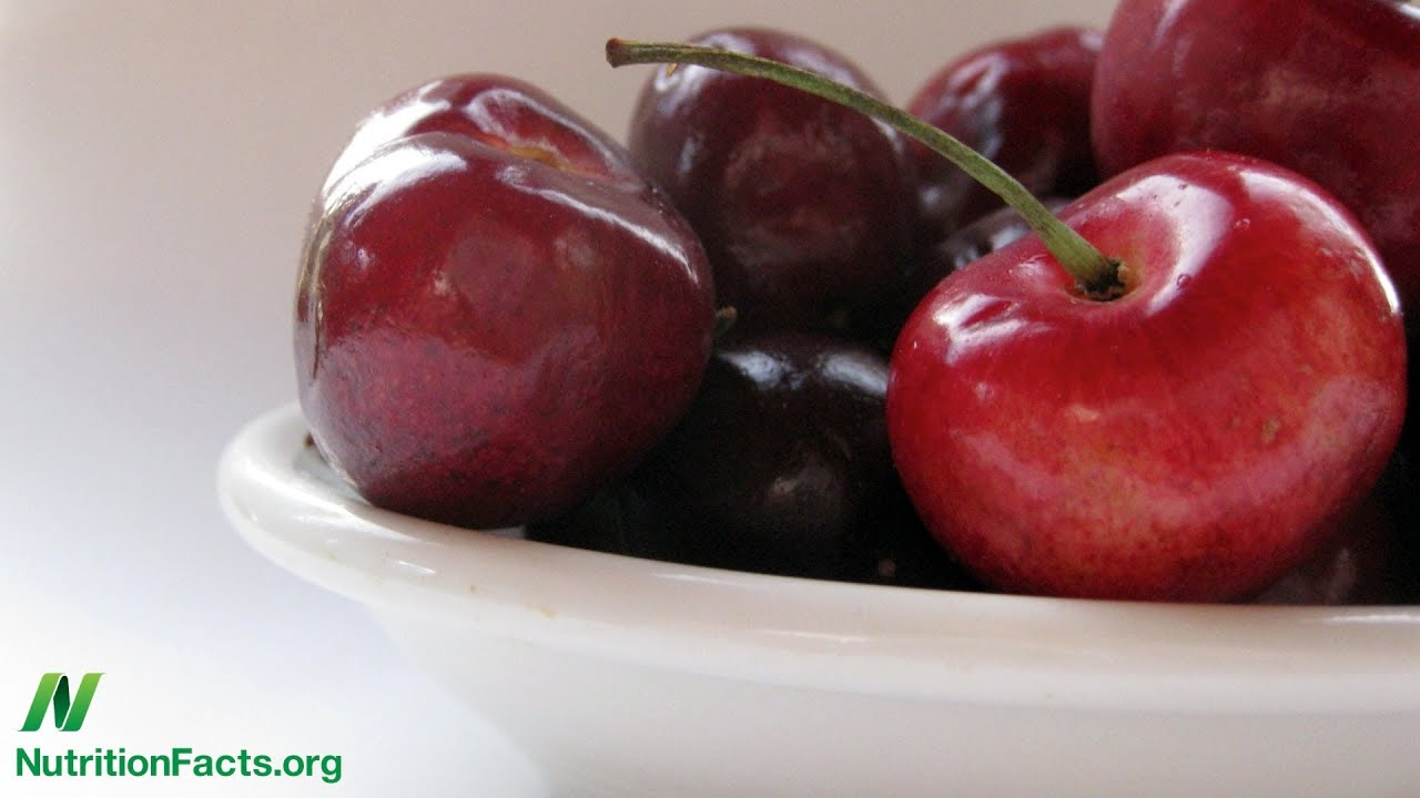 Anti-inflammatory Life is a Bowl of Cherries