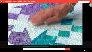 Preview: Quick & Easy Quilting - Craftsy Online Quilting Class