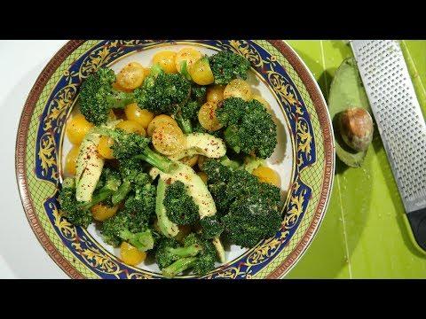 Բրոկոլիով Աղցան - Broccoli Salad Recipe - Heghineh Cooking Show in Armenian