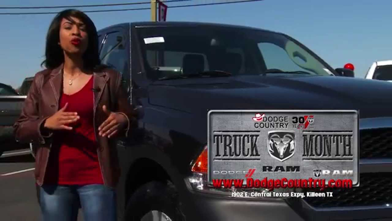 Dodge Country In Killeen >> February is Ram Truck Month! | Dodge Country in Killeen, Texas - YouTube